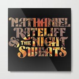 nathaniel rateliff night sweats black 2021 Metal Print
