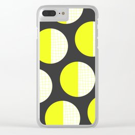 Abstract Dots 02 Clear iPhone Case
