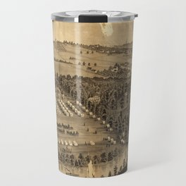Camp Foster, Cuyahoga Falls, Ohio (1880) Travel Mug