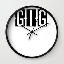GIG - Galeão International Airport - Rio De Janeiro Brazil Airport Code Gift or Souvenir Wall Clock