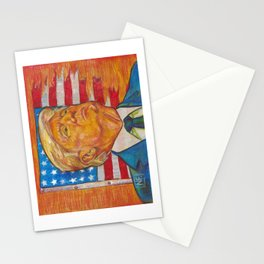 The End of Democracy Stationery Cards