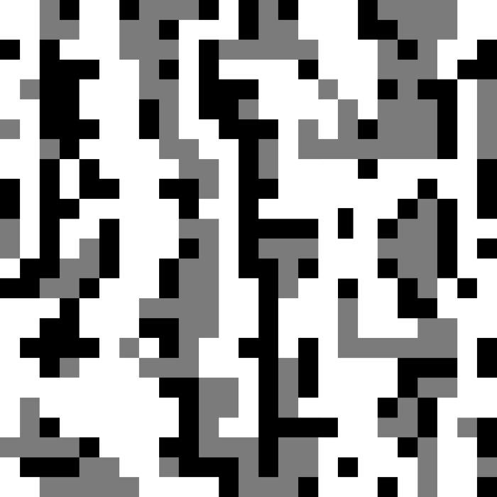 Black & White abstract Duvet Cover
