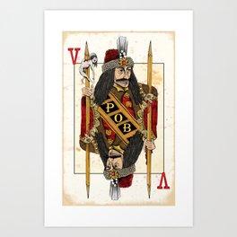 Vlad Impaler Art Print