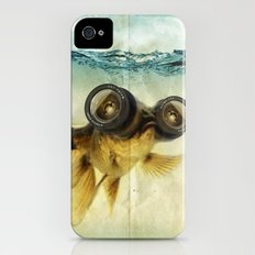 Fish eye lens 02 iPhone (4, 4s) Slim Case