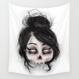 The inability to perceive with eyes notebook II Wall Tapestry