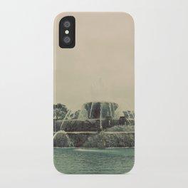 Buckingham Fountain Chicago iPhone Case
