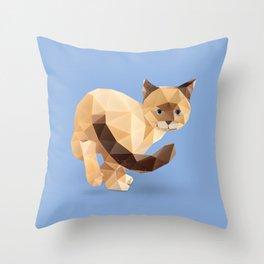Balinese Cat Throw Pillow