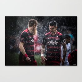 Brothers in Reign  Canvas Print