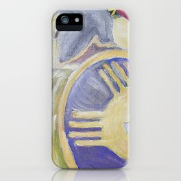 Greek soldier iPhone Case
