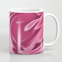 burgundy Mugs featuring Burgundy by Paula J James