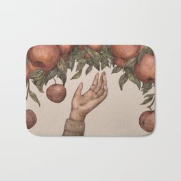 Apple Picking Bath Mat