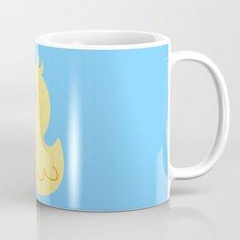 Yellow rubber ducks illustration Coffee Mug