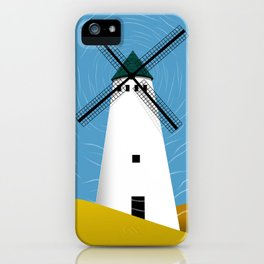 Windmill Scape iPhone Case
