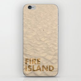 FIRE ISLAND iPhone Skin