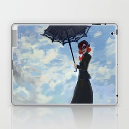 nanny with a parasol Laptop & iPad Skin