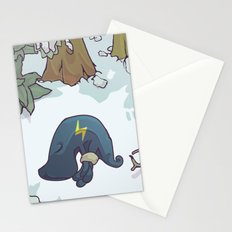 harrowed lost and bound Stationery Cards