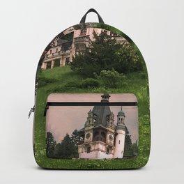 Peles Castle Romania Backpack