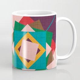 wind rose teal Coffee Mug