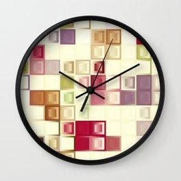 Honeysuckle cubes Wall Clock