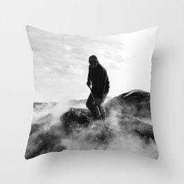 Charcoal-burners Throw Pillow