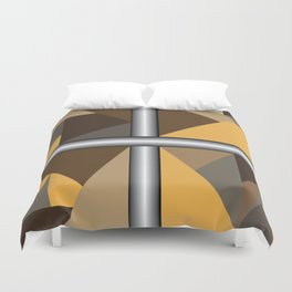 School-To-Prison Pipeline Activism Abstract Art Duvet Cover