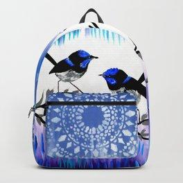 Purple designs Backpack