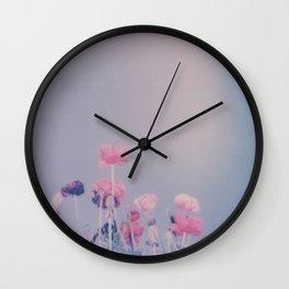 Carlsbad Flowers Wall Clock
