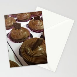 Aztec Chile chocolate cupcakes Stationery Cards