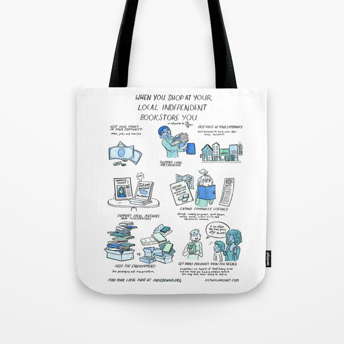 Support Your Independent Bookstore Tote Bag