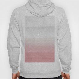 Touching Blush Gray Watercolor Abstract #3 #painting #decor #art #society6 Hoody
