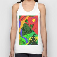 woods Tank Tops featuring woods by sladja