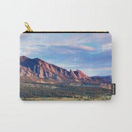 Boulder Colorado Flatirons Carry-All Pouch