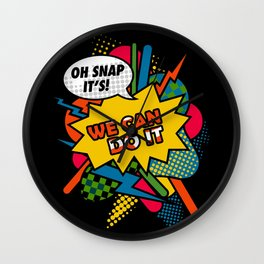 We Can Do It Wall Clock
