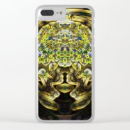 Mr. Golden Clear iPhone Case