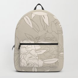 Seamless Gardenia Backpack
