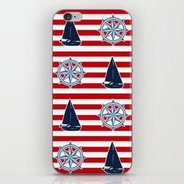 Nautical design iPhone Skin