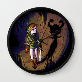 Link and the Imp Wall Clock