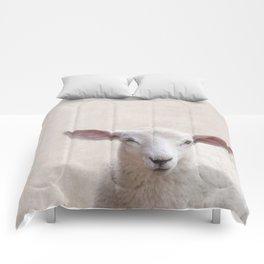 Lamb Portrait Comforters