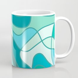 Water reflection 2 Coffee Mug