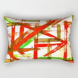 Color Straight Rectangular Pillow