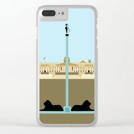 Trafalgar Square in London Clear iPhone Case