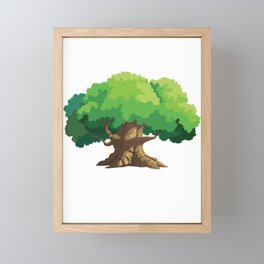 family tree hugger Family Tree Gift Framed Mini Art Print