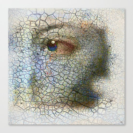 Fragment of you Canvas Print