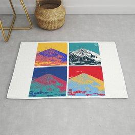 Mt. Fuji Pop Art Rug