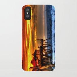 Northside Huntington Beach Pier iPhone Case