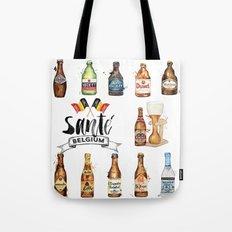 Belgium Beers Tote Bag