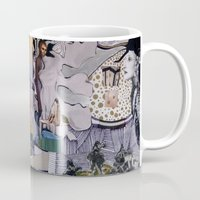 theater Mugs featuring Theater by NouriHeba
