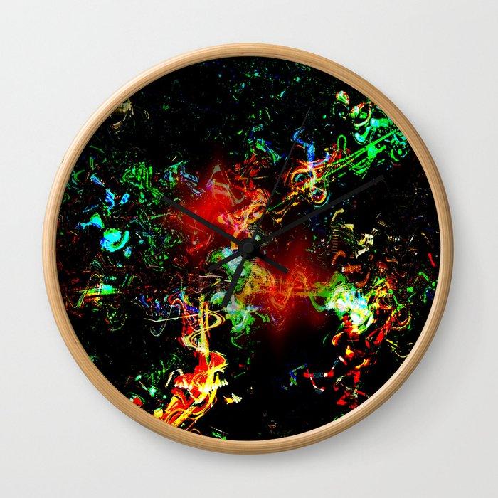 City Twist Abstract Wall Clock