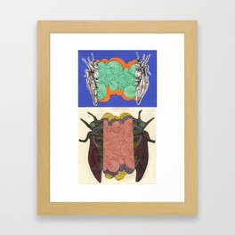 Cicadahh Framed Art Print