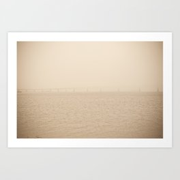 I Can Barely See You #1 Art Print